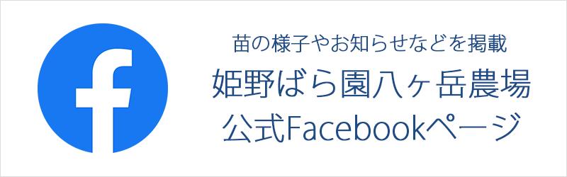 姫野ばら園八ヶ岳農場のFacebookページ